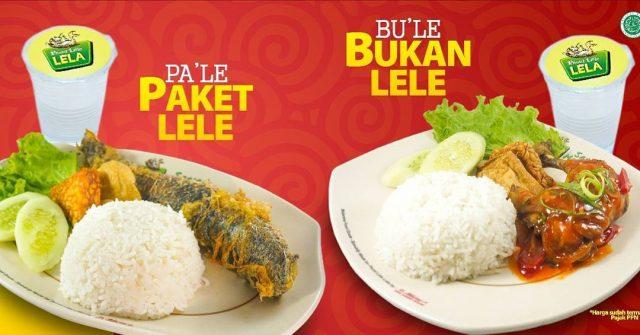 Makanan Pecel Lele lela