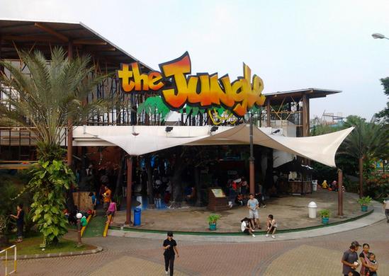 The jungle water adventure bogor