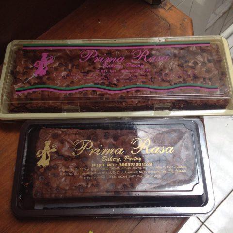 Brownies prima rasa bandung